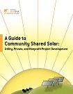 COVER - A GUIDE TO COMMUNITY SHARED SOLAR
